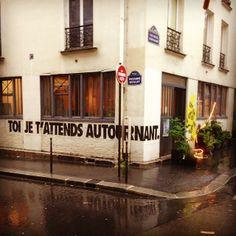 #photo #streetart Toi je t'attends au tournant... {PEAV #Paris11 Rue Beslay @Menilmuche @globalgraff