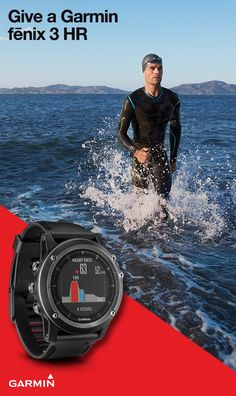 Whatever their sport is -- swimming, trail running, skiing -- the fenix 3 HR from Garmin is the watch you want to give this holiday season. With advanced running dynamics and physiological metrics, comprehensive navigation and tracking functionalities, and smart notifications, it's up for any training activity or competition.