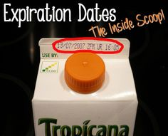 Food Expiration Dates: Should You Eat That?  Find Out What Package Labels Really Mean.