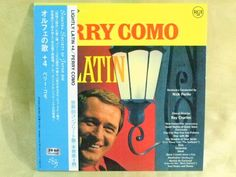 CD/Japan- PERRY COMO Lightly Latin +4 bonus trx w/OBI RARE MINI-LP remaster #PopVocals