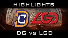 DC vs LGD The International 2016 TI6 Highlights Lower Bracket Dota 2