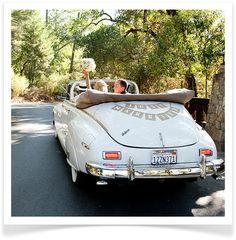 Adore this getaway car