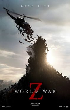 A new trailer for horror movie #World War Z shows #Brad Pitt trying to find a way to stop the zombie outbreak that threatens to wipe out the human race.