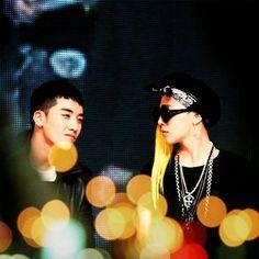 G-Dragon and Seungri ♡ #BIGBANG #G-Ri