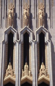 Tulsa is known for its Art Deco buildings #detail #architecture