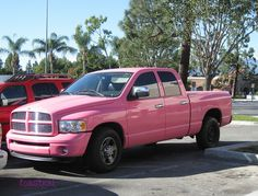 pink pickup truck | Pink Truck | Flickr - Photo Sharing!