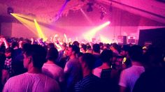 Vibes at the dirtybird London warehouse party @ Oval Space