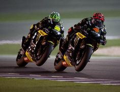 Andrea Dovizioso & Cal Crutchlow / Monster Yamaha Tech 3, Qatar <3