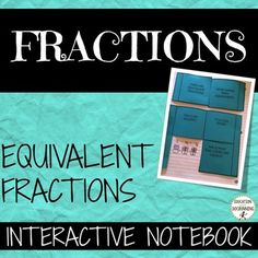 This ready-to-use set of foldables for interactive notebooks includes notes forfinding equivalent fractions both by multiplying and dividing. These notebook pages address common core standard: and Math Division, Long Division, Equivalent Fractions, Thing 1, 8th Grade Math, Common Core Standards, Elementary Math, Interactive Notebooks, Graphic Organizers