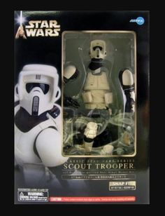 from $100.0 - Kotobukiya Art Fx #StarWars Scout Trooper