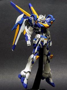 GUNDAM GUY: GUNDAM GUY: READERS FEATURE GUNPLA BUILD - V-92 Gundam by Lee Zhen Yang