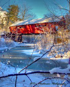 Covered Bridge (Rothschild, Wisconsin).