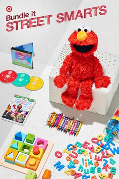 Elmo! He's a 2016 top gift and is here to help kids learn. Using the Love2Learn Elmo app, parents can program Elmo with their child's name, subjects and learning level—and can even customize his response in real time to reinforce good behavior. (Potty training, anyone?) To make it a bundle, wrap up some of Elmo's favorite things, like colorful wood blocks, crayons, magnetic letters and sing-a-long CDs. (These fun add-ons make great gift ideas to pass along to family and friends, too.)
