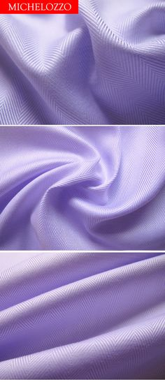 Detail of Lavender Herringbone Shirting from Michelozzo.  Luxurious pure cotton.