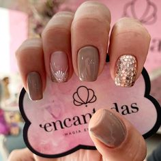 Gel Nails, Acrylic Nails, Semi Permanente, Bridal Nail Art, Glittery Nails, Perfect Nails, Nail Trends, Short Nails, How To Do Nails