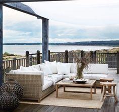 Deck Decorating, Terrace Garden, Pool Houses, Go Outside, Outdoor Furniture, Outdoor Decor, Balcony, Outdoor Living, Home And Garden