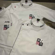 Barber smocks custom made #sartorandvillain #barber #barbershop