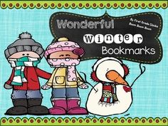 FREE!!  These fun bookmarks are a great winter gift to warm your students hearts on a cold day!!! Include both a color version and black and white. Bookmark sayings include: Reading warms your heart and mind! There is SNOW thing better than a good book!
