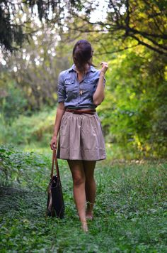 This website has some fabulous outfit ideas.  And she says that a lot of her closet is thrifted!