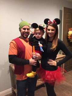 Mickey Mouse Halloween family costume