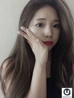 Find images and videos about girl, korean and ulzzang on We Heart It - the app to get lost in what you love. Ulzzang Fashion, Ulzzang Girl, Korean Beauty, Asian Beauty, My Beauty, Beauty Women, Korean Girl, Asian Girl, Asian Makeup Looks