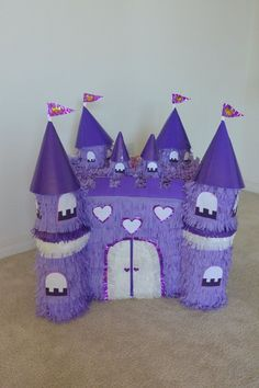 piñata castillo princesita sofia