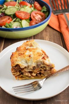 Slimming Eats Low Syn Lasagne Pie (Instant Pot) - Slimming World and Weight Watchers friendly Slimming World Beef Recipes, Slimming World Pasta, Slimming Eats, Slimming Word, King Pro Pressure Cooker Recipes, Instant Pot Pressure Cooker, Slow Cooker, Quark Recipes, Cooking Recipes