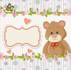 Cute floral border with baby card vector 03 - https://www.welovesolo.com/cute-floral-border-with-baby-card-vector-03/?utm_source=PN&utm_medium=wesolo689%40gmail.com&utm_campaign=SNAP%2Bfrom%2BWeLoveSoLo