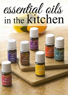 Essential oils have so many uses - from cleaning to diffusing, you can use them everyday. Here's a list of great ways to use essential oils in the kitchen.