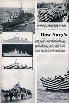 What I Dazzle? The father of camouflage, Abbott Thayer de cribed animal coloration a a way to conceal or di rupt an object. Dazzle i di ruptive Dazzle Camouflage, Camouflage Patterns, Military Insignia, Art Society, Razzle Dazzle, Royal Navy, Battleship, New Tricks, Op Art