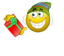 emoticons  smiley kerstmis