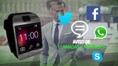 """#Smartwatch #GADNIC Z09 con ranura para tarjeta SIM  El SmartWatch Gadnic Z09 cuenta con una pantalla táctil TFT LCD de 1,56"""" y funciona con una tarjeta SIM, compatible con la compañía que elijas."""