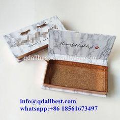 Source New Design Popular Custom Cosmetics Marble Mink Lashes Packaging Box on m.alibaba.com