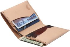No. 4 Wallet in Wheat | Bison Made
