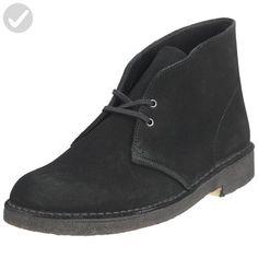 Clarks Originals Men's Desert Boot, Black Suede, 7.5 M - Mens world (*Amazon Partner-Link)