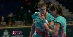 Sorana Cîrstea si Monica Niculescu au adus echipei României punctul de onoare în meciul cu Belgia, câstigat cu 3-1 de aceasta în primul tur al Grupei Mondiale II a Fed Cup Wrestling, Sports, Lucha Libre, Hs Sports, Sport