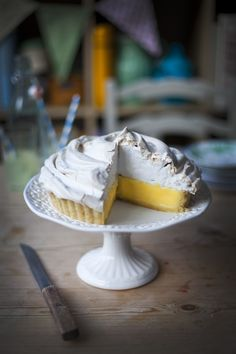 Lemon Meringue Pie | DonalSkehan.com, Crisp pastry, tart lemon curd and marshmallowy meringue....What's not to love?