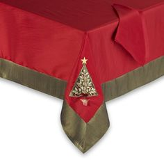 Christmas Trees Fabric Tablecloths | Christmas Wikii