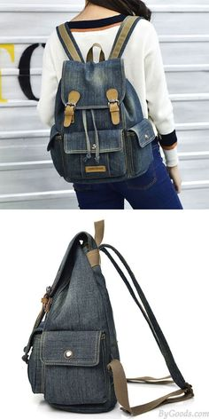 Fashion Rucksacks : Specifically for your day-to-day trip, high school, or embarking on an extended plan, obtain the backpack suit needs. Cute Backpacks, Girl Backpacks, Fashion Bags, Fashion Backpack, Leather Bag Tutorial, Toddler Bag, Clear Tote Bags, Denim Handbags, Diaper Bag Backpack