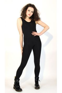 Plain Matt Lycra Tank Catsuit - Dance Clothes UK