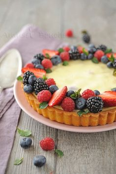 Tarte cheesecake et fruits rouges (13)