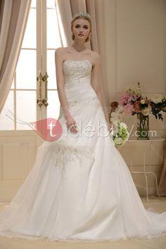 新着ライン恋人チャペルサテン花嫁衣装