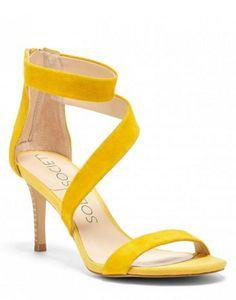 sunflower asymmetrical sandals