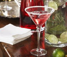 Photo Drink Cocktail Holidays Festive Cranberry Margarita Recipe