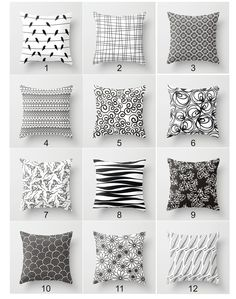 Items similar to Mix and match throw pillow design,chose any pillow,black white custom pillow cover,simple accent pillow,minimalist home decor on Etsy Minimalist Home Decor, Beige Couch, Cricut, Custom Pillows, Decorative Pillows, Trendy Colors, Decorating On A Budget, Designer Throw Pillows, Scrappy Quilts