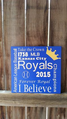 Kansas+City+Royals++Royals+Wooden+Sign++by+NelsonsKnottyBits