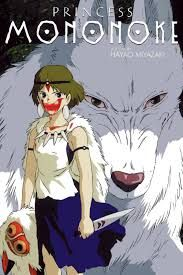 This is Princess Mononoke, another beautiful movie of Hayao Miyazaki. It talks about a boy and one day his village get's attacked by a demon buffalo. he get's a deadly wound and starts his voyage to see if he can cure it. This wound controls his arm and makes him kill a lot of people. One day he finds this girls that is friends with some wolves. then he.... ooppss can't spoil the movie, you will have to watch it.