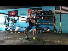 TRX Monday Move | Rip Trainer Zercher Squat