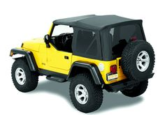 Jeep Accessory - Bestop Jeep Wrangler Supertop NX Soft Top - YJ / TJ  / LJ / JK