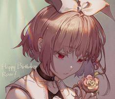 Rosu by kawacy 5 Anime, Kawaii Anime, Manga Girl, Anime Art Girl, Pretty Art, Cute Art, Anime Lindo, Estilo Anime, Beautiful Anime Girl